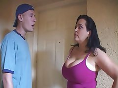 Big Boobs Brunette MILF Pornstar