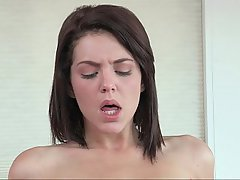 Babe Brunette Cute Doggystyle