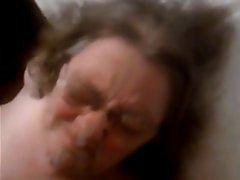 Cumshot Facial Granny