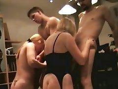 Amateur Group Sex Swinger