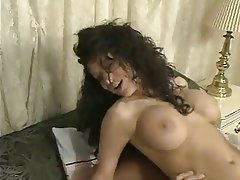 Big Boobs Brunette French