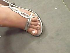 Foot Fetish MILF Mature