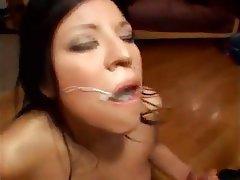Bukkake Cumshot Facial Pornstar POV