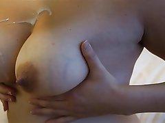 Amateur Cumshot Nipples