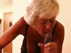 Blonde Granny Interracial Mature