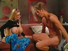 Big Boobs Blonde Femdom BDSM