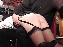 BDSM Blonde Pantyhose