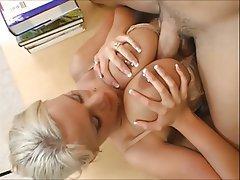 Big Butts Blonde Big Boobs Piercing