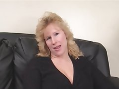 BBW Blonde Double Penetration Interracial