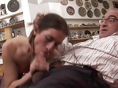 Close Up Cumshot Italian Old and Young