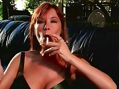 Facial MILF Brunette Big Boobs