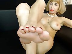Amateur Femdom Foot Fetish Webcam