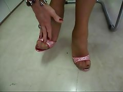 Stockings Foot Fetish Nylon