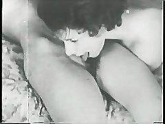 Cunnilingus Hairy Lesbian Strapon Vintage