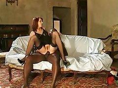 Anal Babe Hardcore Stockings