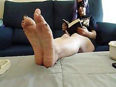 Amateur Foot Fetish Nylon Spanish