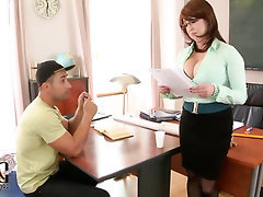 Big Tits Blowjob Handjob Stockings