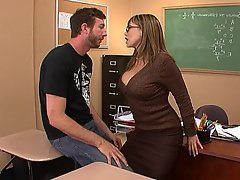 Office Teacher Hardcore MILF