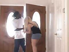 Big Butts Blonde Blowjob Interracial