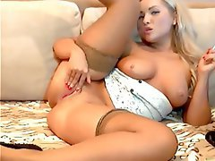 Blonde Russian Stockings Webcam