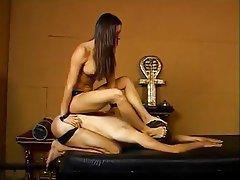 BDSM Femdom Foot Fetish Pornstar