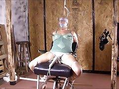 BBW Bondage Nylon Orgasm