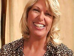 Blonde Casting Mature