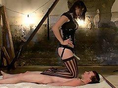 Mistress Brunette Feet Femdom