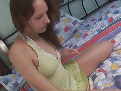 Brunette Masturbation Teen