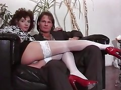 Anal Cumshot German Stockings