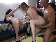 Anal Spanish Threesome
