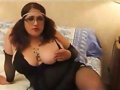 Anal BBW French Masturbation