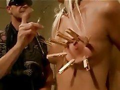 BDSM Blonde Bondage Small Tits