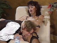 Double Penetration French Group Sex Stockings