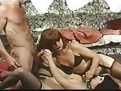 Group Sex Hairy Redhead Stockings Vintage