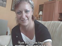 Big Butts Blonde Casting Mature