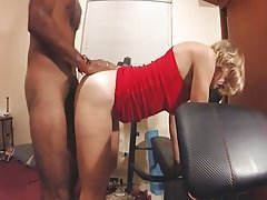 Amateur Hairy Interracial Orgasm