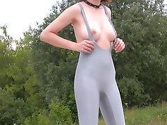 Brunette Spandex