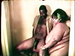 Blowjob Facial BBW Vintage