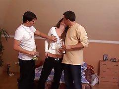 Blowjob Cumshot Cunnilingus Group Sex Threesome