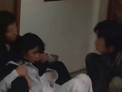 Asian Group Sex Softcore Threesome