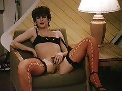 Femdom Hairy Lingerie Stockings Vintage