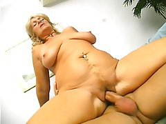 Blowjob Granny Blonde Hairy