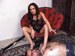 Asian BDSM Femdom Foot Fetish