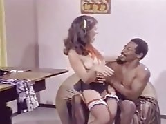 Cumshot Interracial Pornstar Stockings Vintage