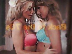 Babe Blonde Lesbian Lingerie