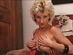 German Hairy Lingerie Masturbation
