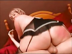 BBW Big Butts Blonde British Mature