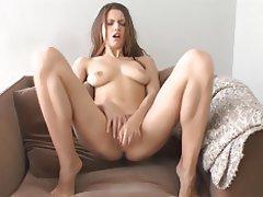 Babe Brunette Masturbation