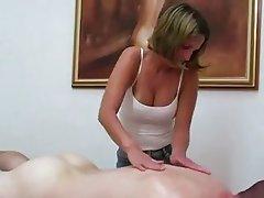 Amateur Handjob Massage